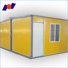 high quality Optional Colors Light Gauge Steel Folding container house strong and durable for temporary office with low price