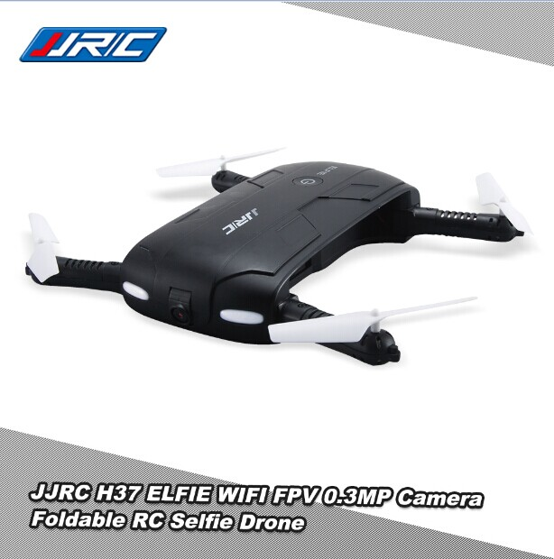 Original JJRC H37 6-Axis Gyro with ELFIE WIFI FPV 720P HD Camera RC Quadcopter Foldable G-sensor RC Selfie Drone RM7429