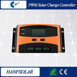 20A 12V 24V PWM solar charge controller/off-grid system solar regulator With 2 USB