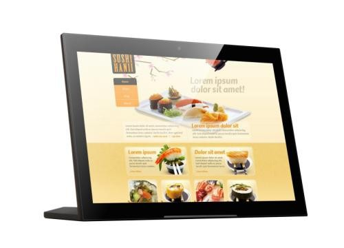Touch Screen E-menu Android Tablet Restaurant self-order Digital Menu