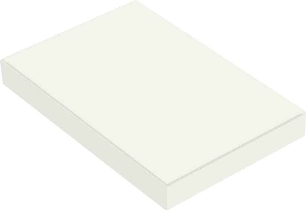 18mm high gloss white UV MDF board made in China