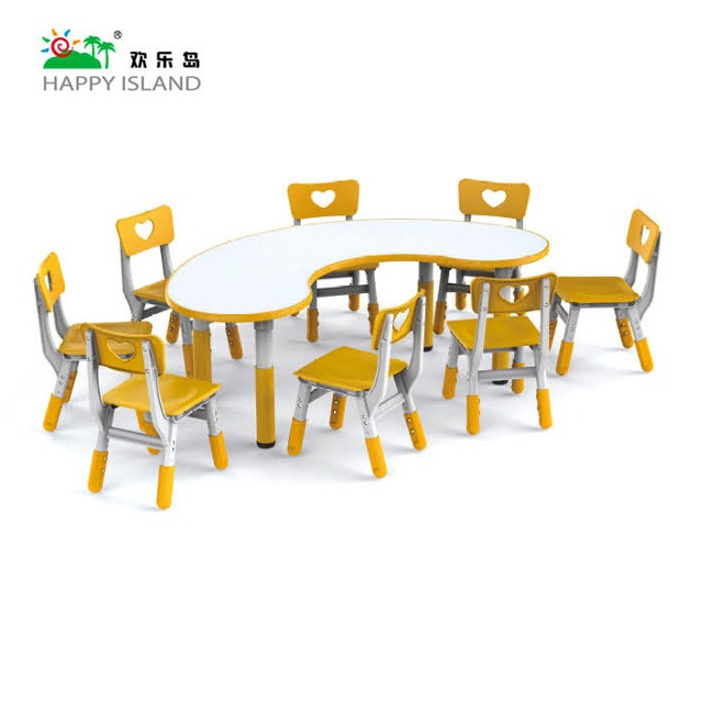 new adjustable children table and chair