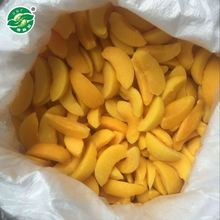Bulk Yummy iqf frozen yellow peach halves suppliers