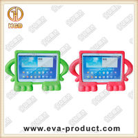 shock proof tablet case with free standing design for Samsung tab 3 10.1 inch
