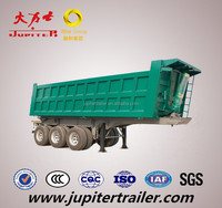 45MT Payload Tipper Trailer Truck With Hydraulic Tipping