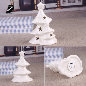 Christmas Gift Ceramics Table Christmas Tree ceramic lamp