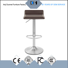 DM-972 Modern Height Adjustable PU Leather Swivel Barstool Home Furniture cheap used bar stools