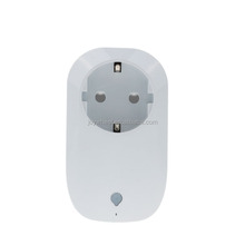 wifi smart socket with on/off dimming time scheduling and energy monitoring