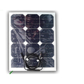 Lightweight bendable 30W solar panel for big solar system