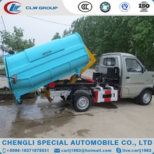 Good quality mini hydraulic dump garbage truck for sale