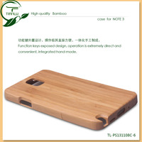 new arrival factory original bamboo case for note 3, smart cover case for samsung galaxy note 3