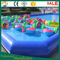 Competitive quality metal frame pool swimming pool