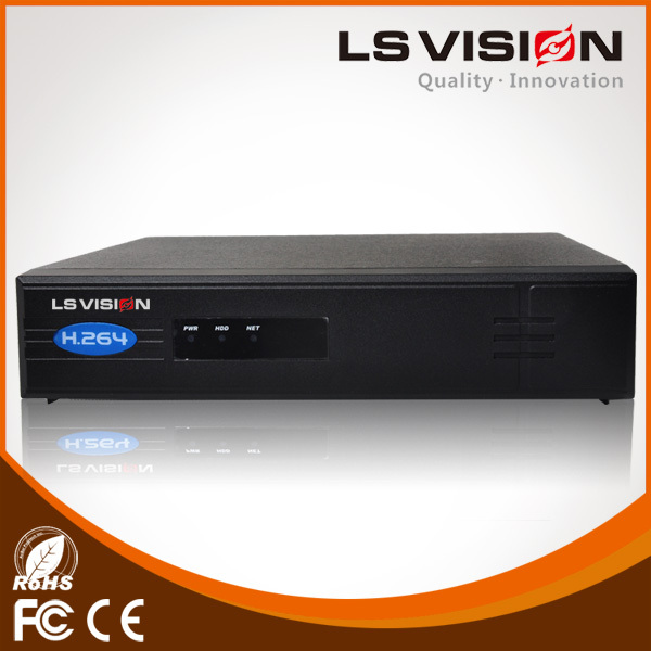 LS VISION 1080p poe NVR h 264 network dvr password reset with free software