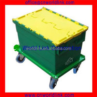 370 Wholesale 50kgs Moving Plastic Tote for Packing