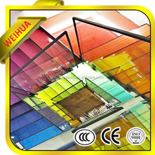 colored window glass from manufacturer with CE CCC SGS ISO