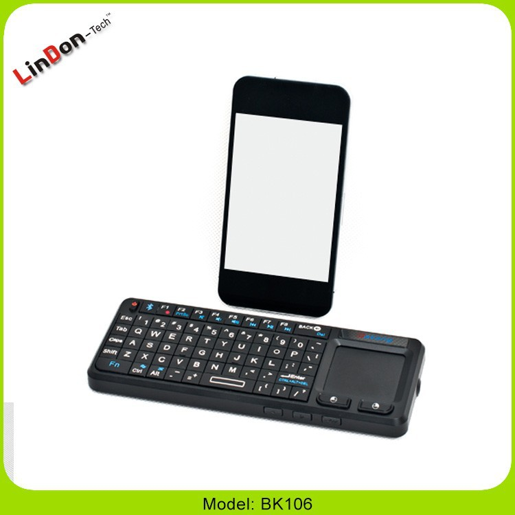 china factory price touchpad keyboard for android tv box made in china Wireless Bluetooth Keyboard with Touchpad for samsung