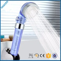 Home Use Bathroom Portable 3 Functions hand Shower Nozzle Waterfall Rain Shower head