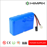 li ion 18650 12V 10Ah battery pack for street light power inverter