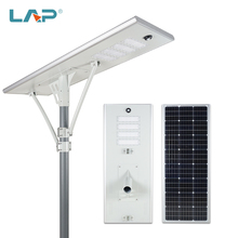 LAP High Quality Garden Lighting White Bridgelux Smd Outdoor Ip65 <strong>100</strong> <strong>W</strong> All In One Led Solar Street Light