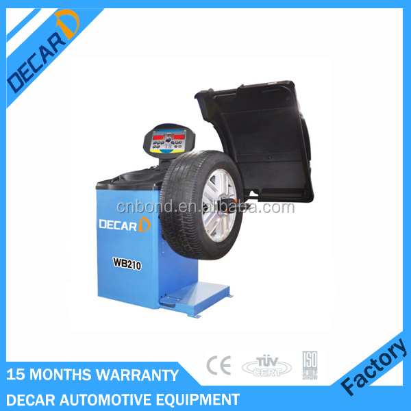Garage used wheel balancer spare parts with Italy software