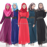 Z51964B New Autumn Muslim Abaya Dresses Women Long Cheap Islamic Wholesale Abaya