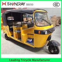 175CC 200CC Bajaj Semi closed Mini tricycle Mordern rickshaw 3 wheel tricycle for sale