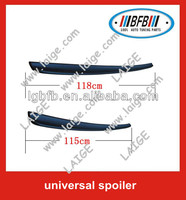 abs rear lip spoiler universal spoiler for cars(115cm/118cm)