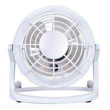 "4"" Quiet USB Mini Desktop Fan with ON/OFF Switch - Optional Colors"