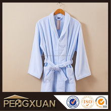 Wholesale luxury warn long sleeve M/L/XL/XXL hotel orange bathrobe