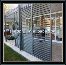 High quality vertical adjustable aluminum louver window