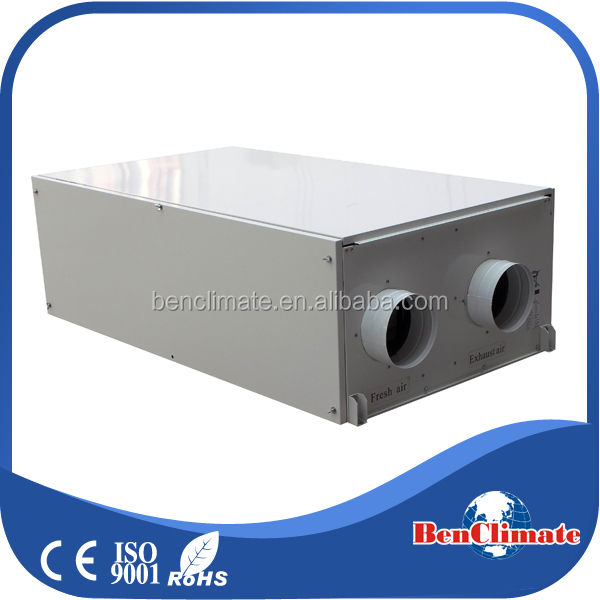 Horizontal ceiling type heat pump energy recovery air conditioner