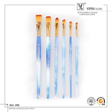 2015 New Products Acrylic Handle Synthetic Hair Artist Paints Brushes