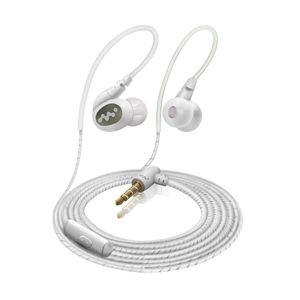 newest headphones headset hanging ear bass sports running mobile phone wire control earphones