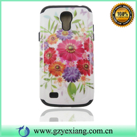 2015 Wholesale Flower Design Girls Case For Samsung Galaxy S4 Mini