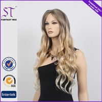 26'' Blonde Synthetic Hair Celebrity Jessica Simpson Wigs