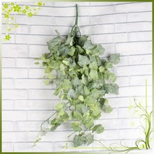 Wholesale high quality artificial grape vines leaves hanging greenery home decor