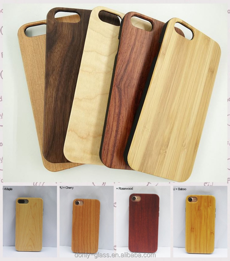 Custom phone case for iphones, ultra-thin hard back real wood phone case for Iphone 6/6s/6Plus/ 7/7Plus