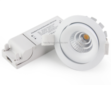 CE RoHS approved color adjustabel warm dim 2000k to 3000k reflector cob led downlight IP44