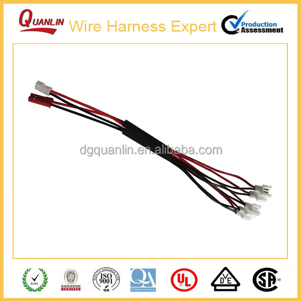 UL3135 Silicone Rubber Electrical Wire Harness,SYP/MOLEX51005/MOLEX51006 Limit Swith