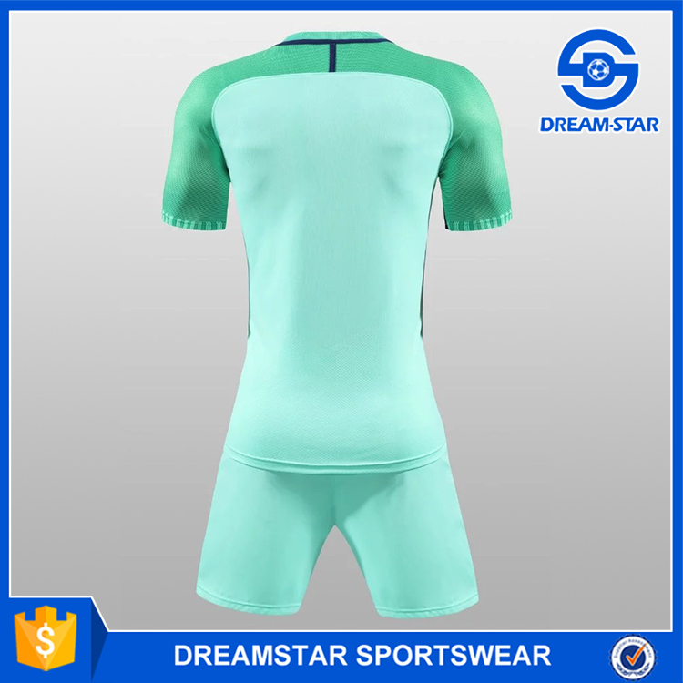 Hotselling light blue soccer jersey for sale