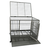 strong heavy duty dog crate popular in USA market