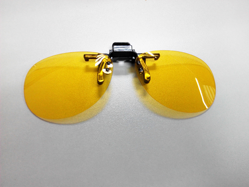 clip-ons driver night vision glasses, eyewears
