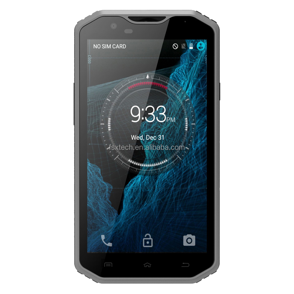 "5.5"" Android IP68 waterproof shockproof dustproof 3G 4G Bluetooth GPS WIFI G-sensor L-sensor rugged mobile cell phone"
