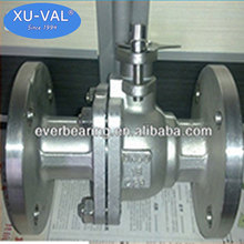 SS304 Metal Hard Seal Ball Valve