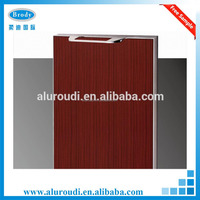 Economic aluminium frame acrylic kitchen cabinet door
