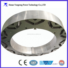 permanent magnetic motor stator and rotor laminated core