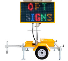 2018 1004 VMS-COLOR Outdoor Variable Message Signs Mobile Led Screen Board Dynamic Message Signs Display vms Trailer