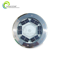 outdoor recessed paving lamp solar buried 24w solar landscape led underground light