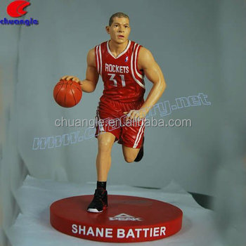 Realistic Custom Resin Sports Figure, Basketball Player Action Figure,Custom Figure Gift