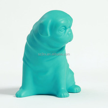 custom plastic figure;small plastic animal figures for kids;plastic cartoon animal dog figure